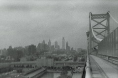 Philly from the Franklin (lelascar) Tags: holga135