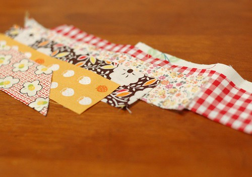 How to make a patchwork string 2