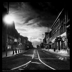 Southport Morning on Film (Lee Carus) Tags: fab film liverpool october medium format 2009 southport collective merseyside yaschica autaut