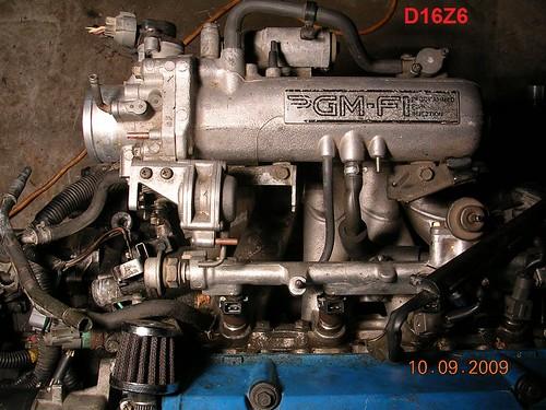 Fit 92-95 Honda D15Z1 D16Z6 SOHC Vtec Motor Voll Dichtungssatz W ...