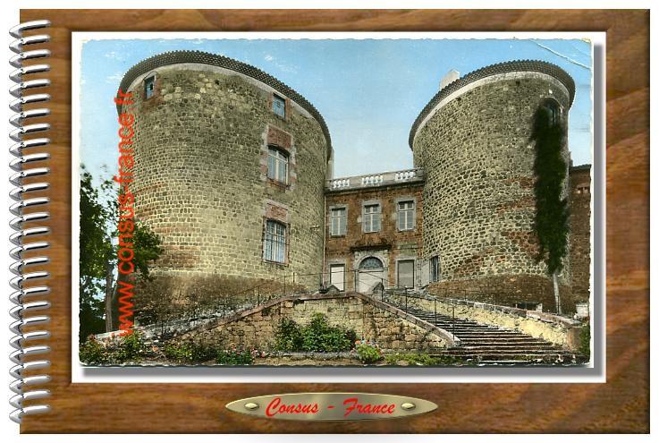 MONISTROL - sur - LOIRE (Haute - Loire). Le Château des Evêques