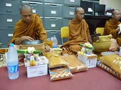 In House Religious at Sivalai Place (sivalai.place) Tags: travel thailand hostel place apartment bangkok traditional ceremony monks backpacks hotels activities exchangestudents thammasat siriraj sivalai besthostels