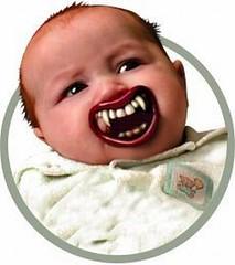 Halloween Lil' Vampire Pacifier