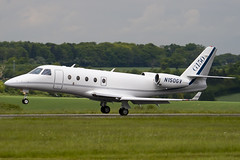 N150GV - 260 - Gulfstream Aerospace - Gulfstrem G150 - Luton - 090516 - Steven Gray - IMG_2614