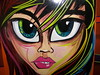 100_0508Girlie Stripes (kulturerock) Tags: girl face panels oneshot