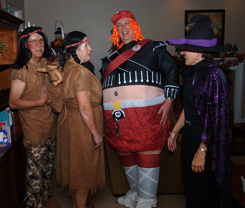 Chief, squaw, fat bastard and witch