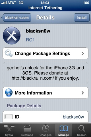 blackra1n rc1 gratuit