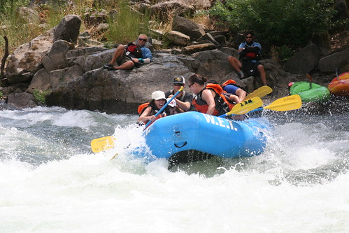 white water california wet river trips