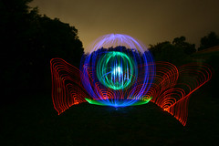 In Bloom (-glyph-) Tags: longexposure light lightpainting wool beautiful canon circle fire eos crazy amazing fantastic shot awesome orb australia melbourne led drain flame sphere slowshutter shutter lighttrails trippy sparks glyph drains spirograph urbex cathode fluoro steelwool lightpaint wirewool mesmerising eos400d spectactular