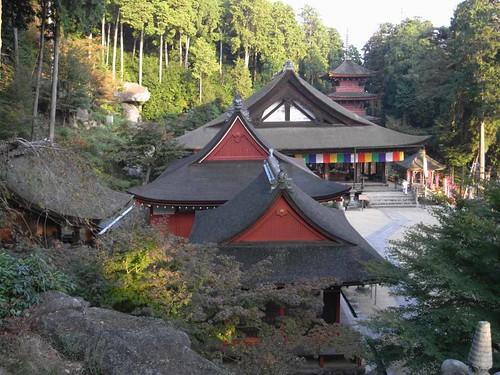 琵琶湖一望!巨石が残る『長命寺』@滋賀県近江八幡市