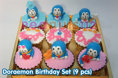 Doraemon Birthday Set (9 pcs) | Flickr - Photo Sharing!