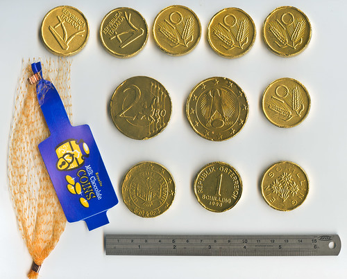 No.2a Wilkinson supermarket gold coins by Fabricator of Useless Articles