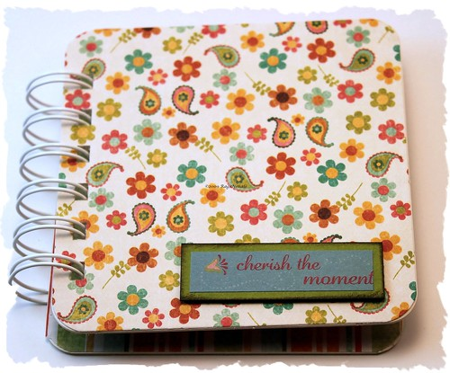 Paisley Post it holder