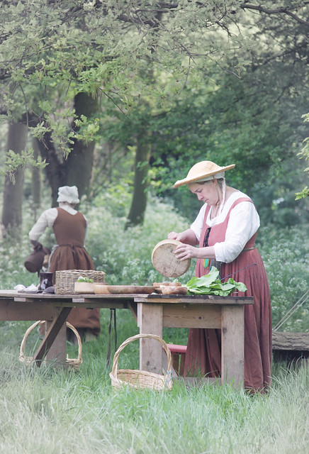 Kentwell Hall - Tudor re-enactment