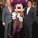 John DeLuca and Rob Marshall with Pirate Mickey