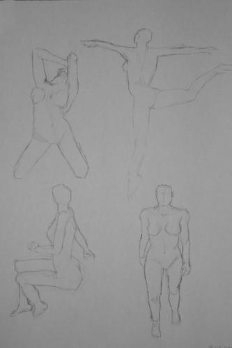 "Spartan Camp #182 - 50 gestures + Optional ""Different media gestures study"""