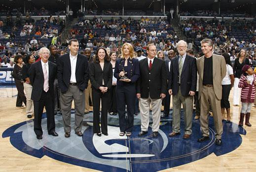 2007 Team Patterson Award Winner: The Memphis Grizzlies Charitable Foundation