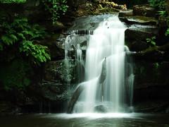 Thomason Foss (Billy Clapham) Tags: film river waterfall long exposure fuji slow beck yorkshire north filter valley finepix nd billy fujifilm moors foss clapham cpl thomason goathland s200 polariser exr s200exr