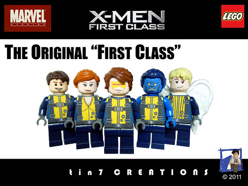 Custom minifig The Original First Class