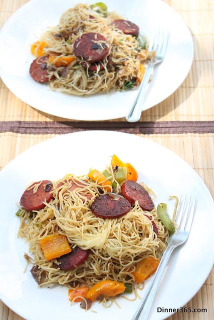 Day 163 - Salami Noodles
