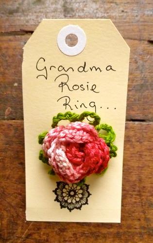 Grandma Rosie Rings...