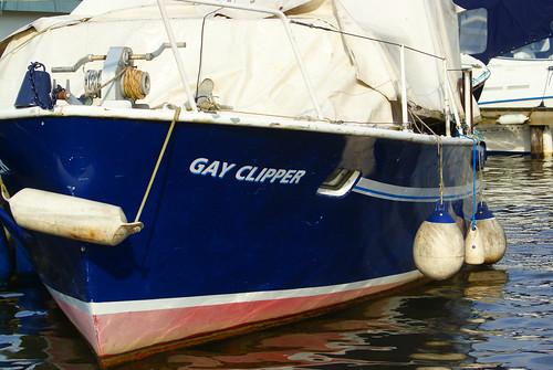 funny boat names. Gay clipperfunny name