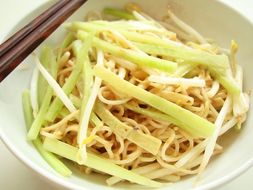 Chinese cold noodles