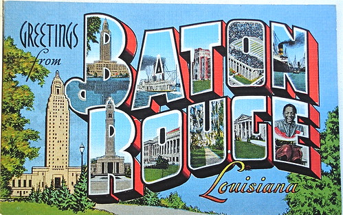 Louisiana Large Letter Postcards | Flickr