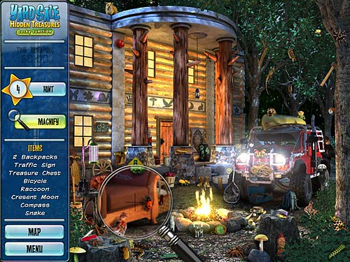Exciting Hidden Object game - Yard Sale Hidden Treasures: Lucky Junction.