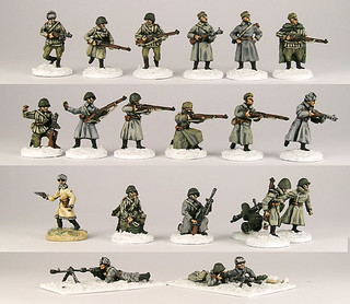 20mm Warmodelling Red Army Winter Infantry (STALINGRAD)