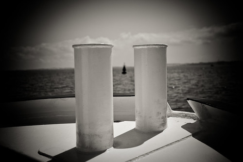My Photo of the Day   Boat Pillars