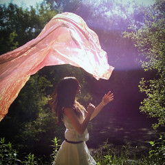 137|365 ||| dance with the wind (.bella.) Tags: light portrait nature girl self real dance artist natural days 365