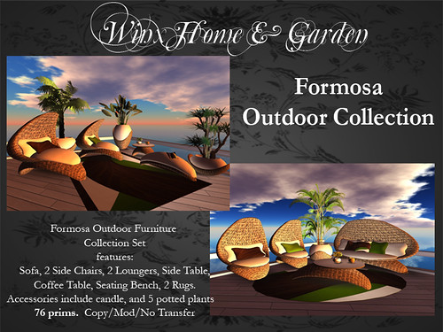 Winx-Formosa Outdoor Furniture Set