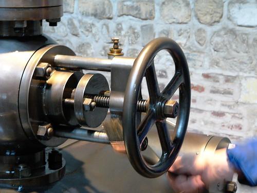 Commande de la machine Crépelle