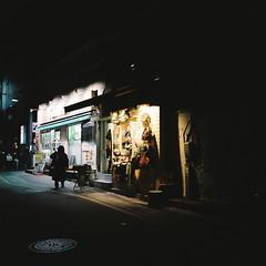 ^:z] (june1777) Tags: street light mamiya night square alley fuji n 7 snap h f 400 seoul pro f4 67 65mm 400h mamiya7 pro400h v18 angukdong