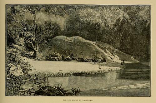 010-En las orillas del Lalanana-Madagascar finales siglo XIX