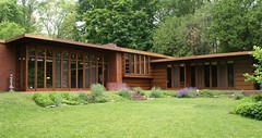 Herbert Jacobs house I (Thompson Photography) Tags: house home june wisconsin architecture franklloydwright architect madison wi 2009 organicarchitecture usonian 6609 wrightandlike 66and6709