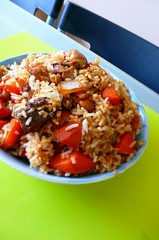 ,  Hai-Nan Chicken Rice (11) Tags: food rice chinesefood chinese homemade                    stirfiredrice