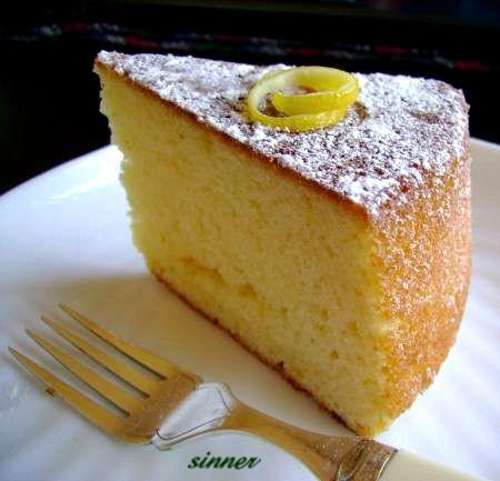 Yogurt Sponge Cake Recipe