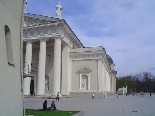 Centro Histórico de Vilnius na Lituânia