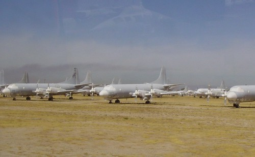P-3 Orion's in Storage