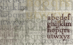 Roman Lowercase Letters (for 24 widescreen displays) (arnoKath) Tags: wallpaper typography design roman letters font type lettering typo tipografia typeface typographie typografie lowercase fontsinuseromansketch