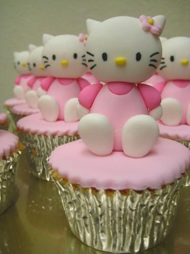 hello kitty cupcake