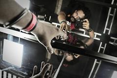 Photographers Freedom (AvikBangalee) Tags: camera light selfportrait reflection aka weird nikon hand elevator picasa surreal ttl dhaka rocknroll dslr tamron bangladesh lightroom lowangle 18200mm d90 f3563 coolphotographer anindakabiravik mambojumbo