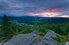 View over Birnam (craig crawford) Tags: sunrise nikon 18200 birnam d300