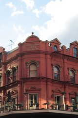 red building