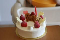バースデー&結婚記念日ケーキ
