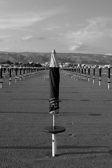 Last Day Of Summer (Trovilo) Tags: beach umbrella spiaggia ombrellone theemptyplaces