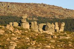 Chaos de granit sur le Mont Lozère (Cévennes)