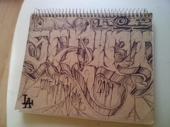 SCRIPT KIC (GhoDilated) Tags: notebook la sketch script 2009 ki roes kic backtothetraphouse keyec